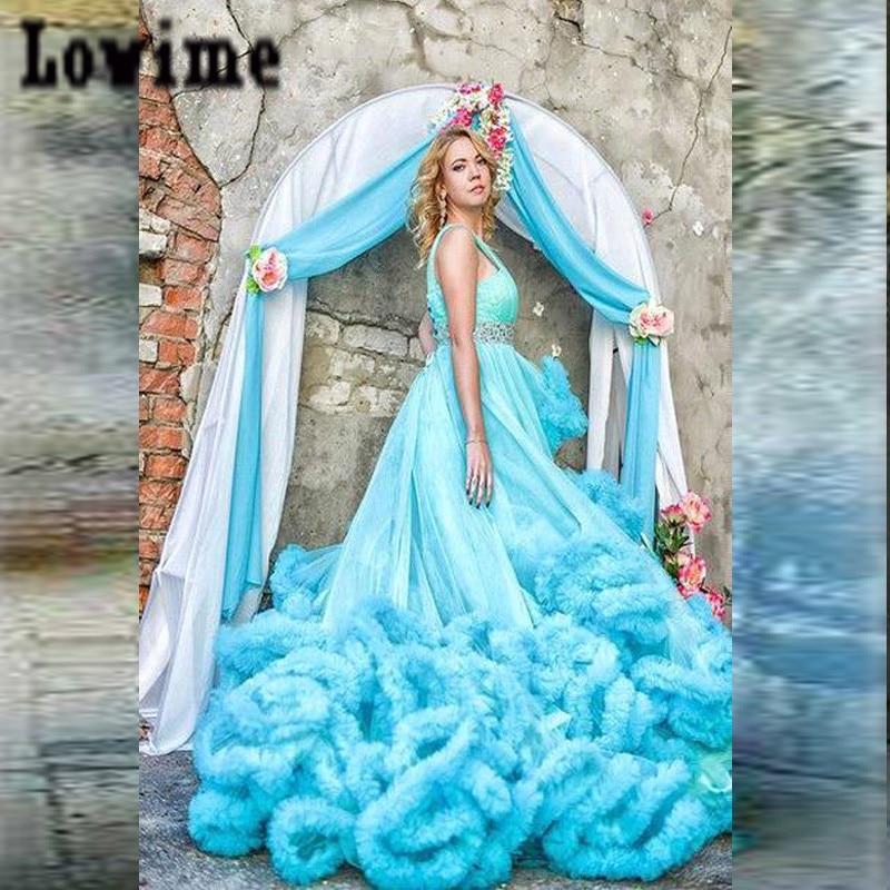 100 adorable blue wedding dresses. blue35. elegant sweetheart a line ...