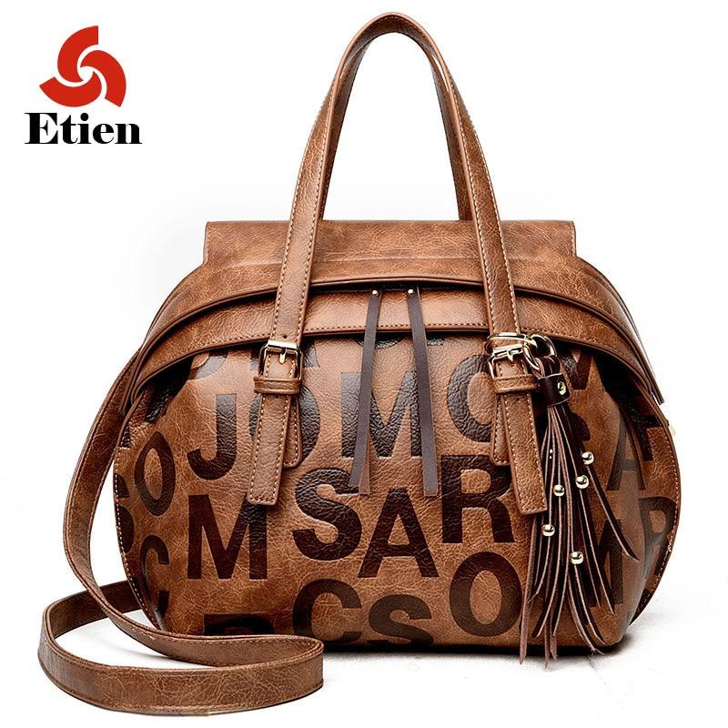 women bag women genuine leather handbag Women's   shoulder bags Luxury large cap