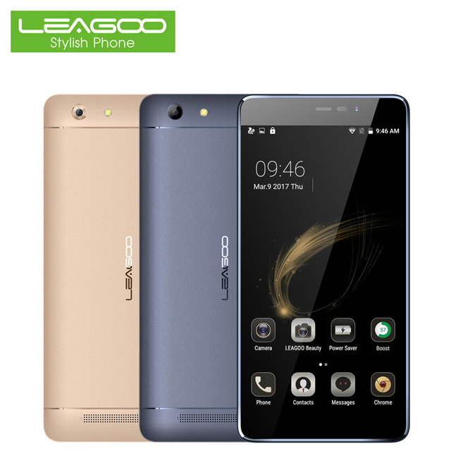 """Leagoo Shark 5000 Smartphone 5.5""""Android 6.0 Quad Core 1GB RAM+8GB ROM with 5000mAh Battery 13.0 MP Camera and OTG Cellphone"""