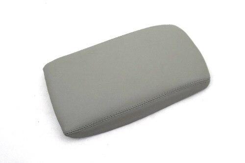 Armrest Cover Lid (Grey Leatherette) For Audi A6 C6