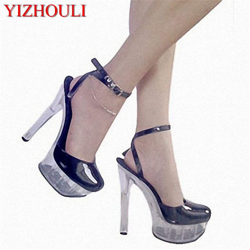 The new stores crystal sandals Sell lots of super high heels 15 cm The shopkeeper is recommended for womens shoesThe new stores crystal sandals Sell lots of super high heels 15 cm The shopkeeper is recommended for womens shoes