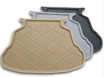Trunk Tray Liner Cargo Mat Floor Protector foot pad mats For Skoda Superb 2009-2013 2014-2017 2colors