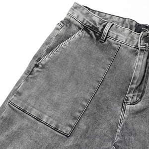 Image 3 - SIMWOOD di 2020 della molla di Nuovo Modo Dei Jeans Degli Uomini di Marca Pantaloni In Denim Slim Fit Plus Size Inverno Abbigliamento di Alta Qualità NC017060