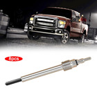 8pcs/Set Glow Plugs Heater for Ford F250 F350 Super Duty for Diesel 6.0L Heating Tool Quieter Quick Start Glow Plugs