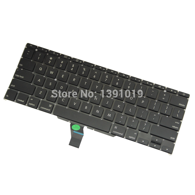 200PCS US Keyboard For Apple Macbook Air 11'' A1370 A1465 US Keyboard With Backlight