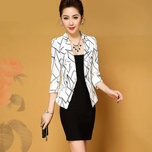 Slim Fit Blazer Feminino Branco Casual White Coat Women Black Korean  Harajuku Americana Bleizer Femenino Ladies Coats Fall X064 5bafa71b3a67