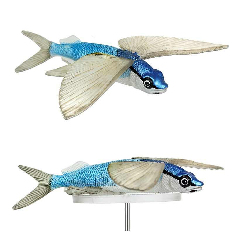 NOUVEAU * Safari Poisson Volant Jouet en plastique sauvages Aquatiques Eau Animal