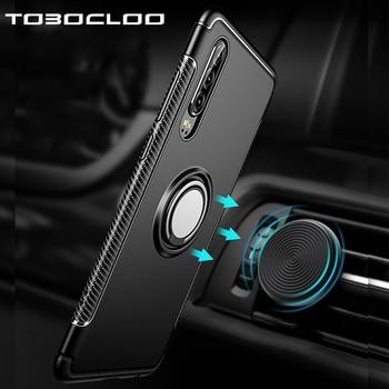 360 металлическое кольцо автомобильный держатель чехол для Huawei P30 Lite P20 Pro P10 Plus Mate 20 Honor 9 10 Nova 3 3i 4 P Smart 2019 сверхмощный чехол
