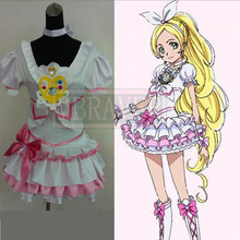 Pretty Cure Cure Rhythm Cosplay Costume Custom Any Size(China)