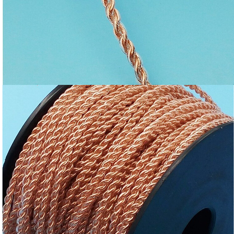 80 core Special soft 7N single crystal copper OCC 4 shares Fever hifi diy headphone cable 10 meter кабели межблочные аудио tchernov cable special mk2 ic 4 35m