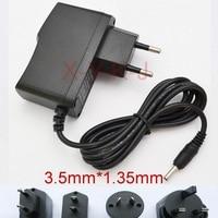 1 PCS 6 V 200mA 300mA 400mA 500mA 600mA 700mA 800mA AC 100 V-240V Schalt power adapter versorgung EU UNS UK AU stecker DC 3,5mm x 1,35mm