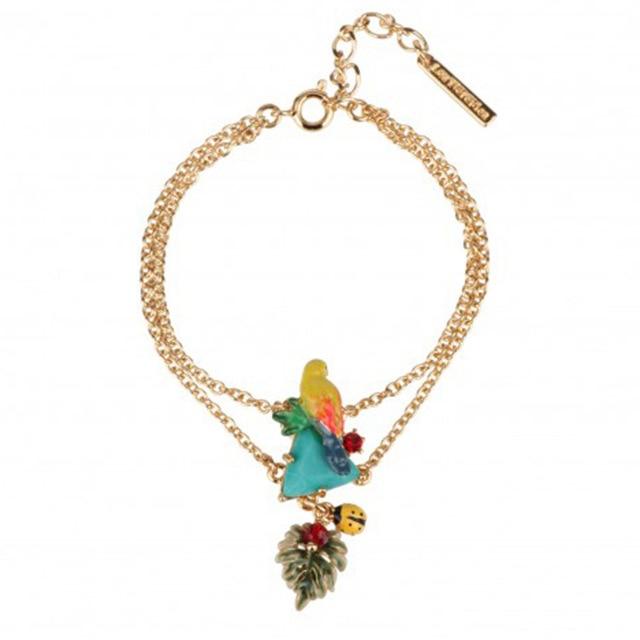 France Color Parrot Enamel...