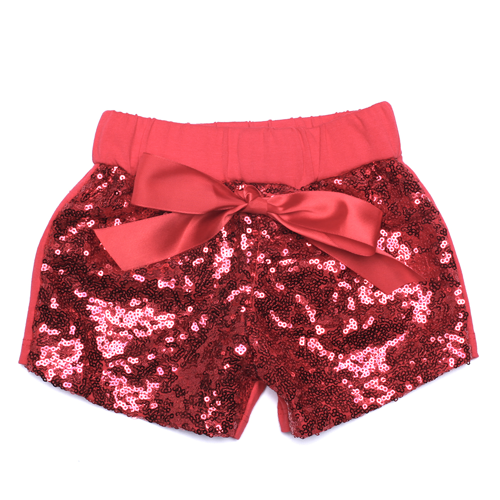 girls pink sequin shorts girls birthday outfit Sparkle Shorts ...