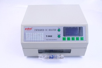 PUHUI T-962 Infrared IC Heater T962 Reflow Solder Oven BGA SMD SMT Rework Sation T 962 Reflow Wave Oven
