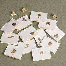 Креативные Детские поздравительные открытки стиль восстановление древних способов благословение карты горячего тиснения processGift card для праздничной части