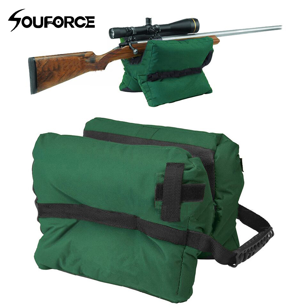 Outdoor Tack Driver Hunting Shooting Gun Accessories Shooting Stand Bag Gun Rest Target Sports Rifle Bench Unfilled Sand Green