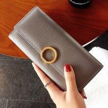 Mode Lange Schlange Haut Frauen geldbörsen 100% Echtem Leder Brieftasche frauen Berühmte Marke Designer Rinds Weiblicher geldbeutel