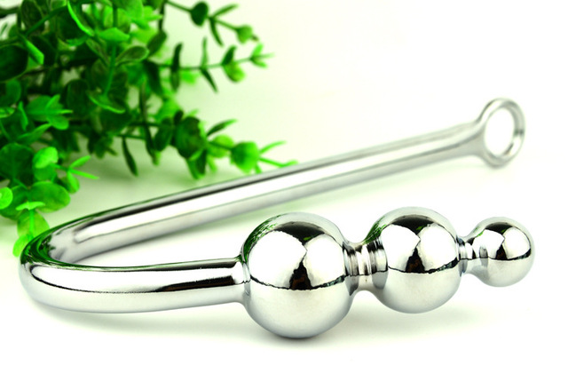 Stainless Steel Graduated Ball Tip Vaginal Or Anal Hook -5385