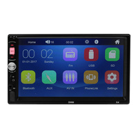 7 2DIN HD LED Touch Screen Car MP5 Player GPS NAV Bluetooth Stereo FM Radio Rearview Camera two DIN Car Multimedia Player
