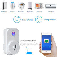 Ihens5 Convenient Mini Wifi Socket Plug Outlet Smart Afstandsbediening Draadloze Controles For Ios Android Smart Phone