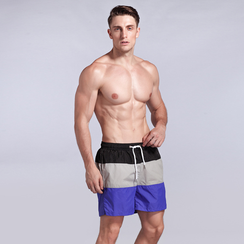 Quick Dry Men's   Board     Shorts   Summer Surf Beach   Shorts   Sport Swimwear Men Boardshorts Man gym Bermuda Swimsuit