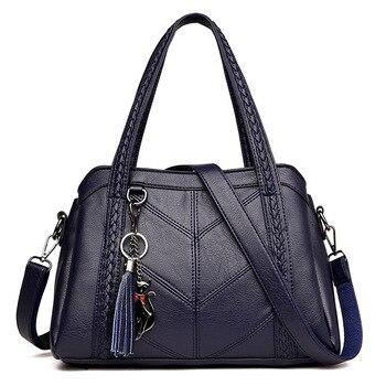 Γνήσια δερμάτινη τσάντα ώμου πολυτελείας Τσάντες - Πορτοφόλια Αξεσουάρ MSOW