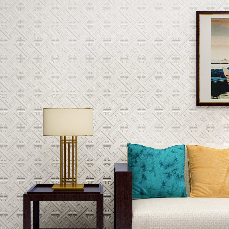 Купить с кэшбэком Papel De Parede Paysota Chinese Style Wallpaper Living Room Bedroom Restaurant Classicism Non-woven Wall Paper Home Decor