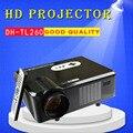 DH-TL260 Red Blue 3D Игры ЖК-Проектор Full HD встроенный Динамик Домашний Бизнес Кинотеатр Proyector Поддержка 1080 P СВЕТОДИОДНЫЙ Проектор