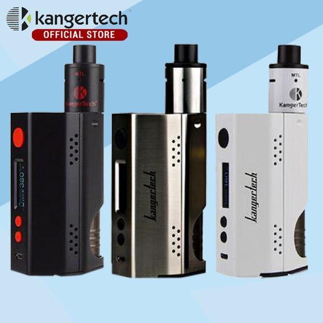 Kanger жидкостью vape dripbox 160 Вт starter kit с 7 мл емкость subdrip rda распылитель и тк 160 Вт dripmod e электронная сигарета