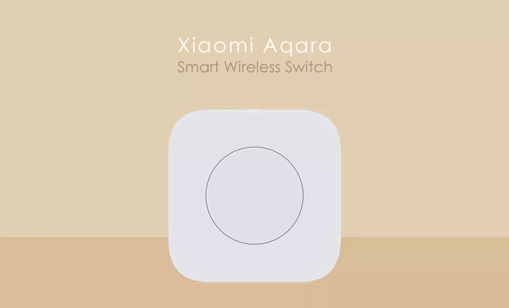 Xiaomi MIJIA Aqara Smart Wireless Switch for xiaomi Smart Home house Remote Control Center for Mijia Home APP Gateway Hub # (3)