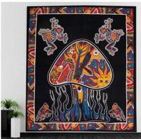 Indian style abstract mysterious sofa thread blanket background cloth porch hanging cloth wall tapestry