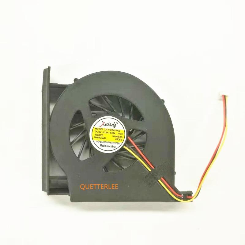 NEW genuine CQ61 laptop fan, for HP CQ61 G71 CQ70 notebook cpu cooling fan, High quality G61 CQ71 cpu cooler laptop accessories
