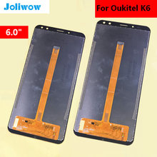 6.0 inch FOR Oukitel K6 LCD Display Touch Screen  Digitizer Assembly Replacement Accessories display for oukitel power 5 power5 lcd display touch screen digitizer assembly replacement accessories