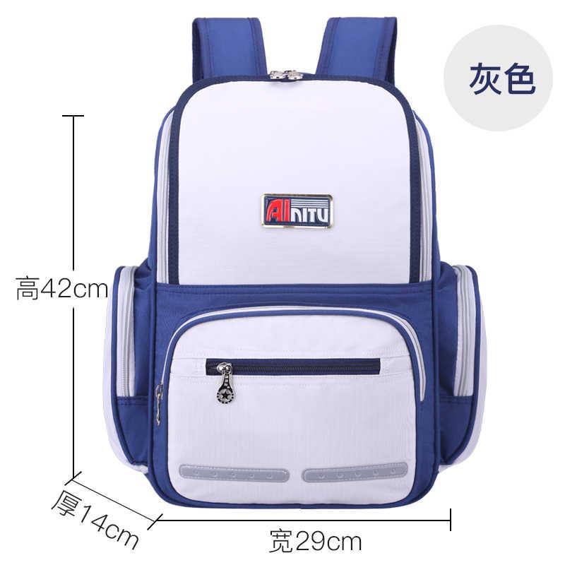 Mochilas escolares impermeables para niños, niñas, niñas, niños, mochilas escolares, mochilas ortopédicas, Mochila escolar para niños