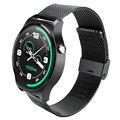 Новые Bluetooth 4.0 Smart Watch Оригинал GW01 IPS Экран Круглый Жизнь Водонепроницаемый Спортивные Часы Браслет Для Android IOS Телефонов