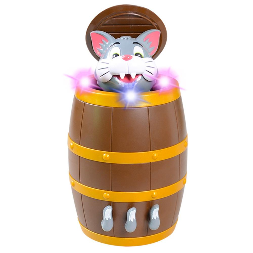 US $12 58 40% OFF|LeadingStar Funny Strange Tricky Electric Music Cat  Pranks Make Pirate Bucket Puzzle Creative Toys Christmas Halloween Props-in  Gags