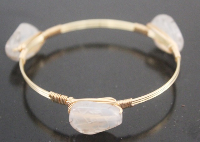 Artilady Rose Gold Wire Wred Bangle Bracelet Stackable Bangles For Women Jewelry Whole Bracelets