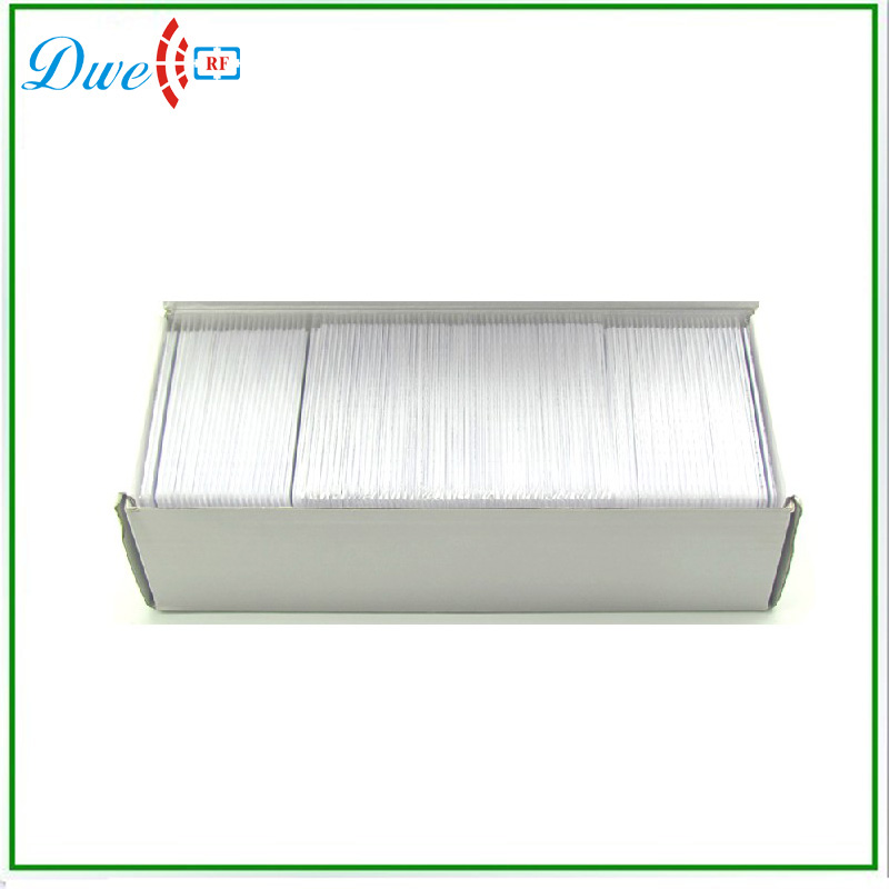 DWE CC RF ABS Blank FM1108 China Proximity IC Card for Attendance Management 10pcs fm1108 contactless ic card blank white pvc card factory sales m1 card