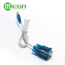 Новинка, устройство для подключения кабеля USB к порту RS232 COM Serial PDA 9 pin DB9, поддержка порта Windows7 64
