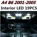 19 unids X envío gratis Free Error Kit de LED Luz Interior Paquete para AUDI A4 S4 B6 accesorios 2001-2005