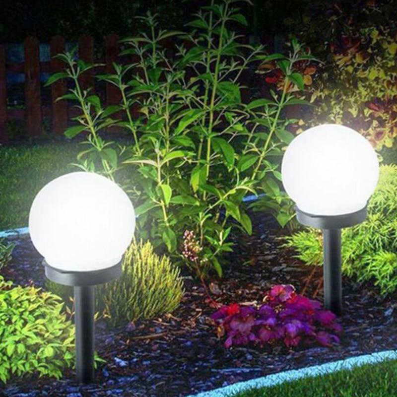 10 Pcs Lot Solar Lampu Taman Lampu Taman Berkemah Outdoor Lampu Taman Halaman Rumah Jalur Pemandangan Malam Lampu Lampu Surya Aliexpress