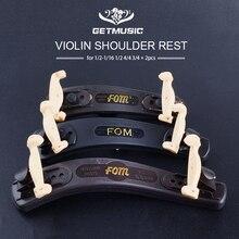 2pcs FOM Violin Double Side Adjustabale Shoulder Rest for 1/2 1/4 1/10 1/8 1/16 4/4 3/4 Violin Fiddle Accessories