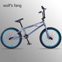 หมาป่าFangจักรยานBMXจักรยานเสือภูเขาจักรยานMTB BMXจักรยานด้านหน้าCaliperเบรคด้านหลังVเบรคจักรยานฟรีการจัดส่ง