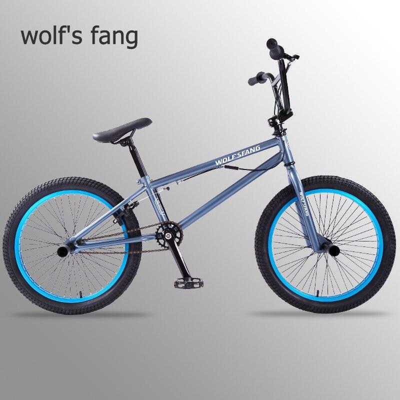 Lobo fang bicicleta bmx mountain bike bicicletas de estrada mtb bmx bicicletas frente pinça freio traseiro v freio bicicletas frete grátis