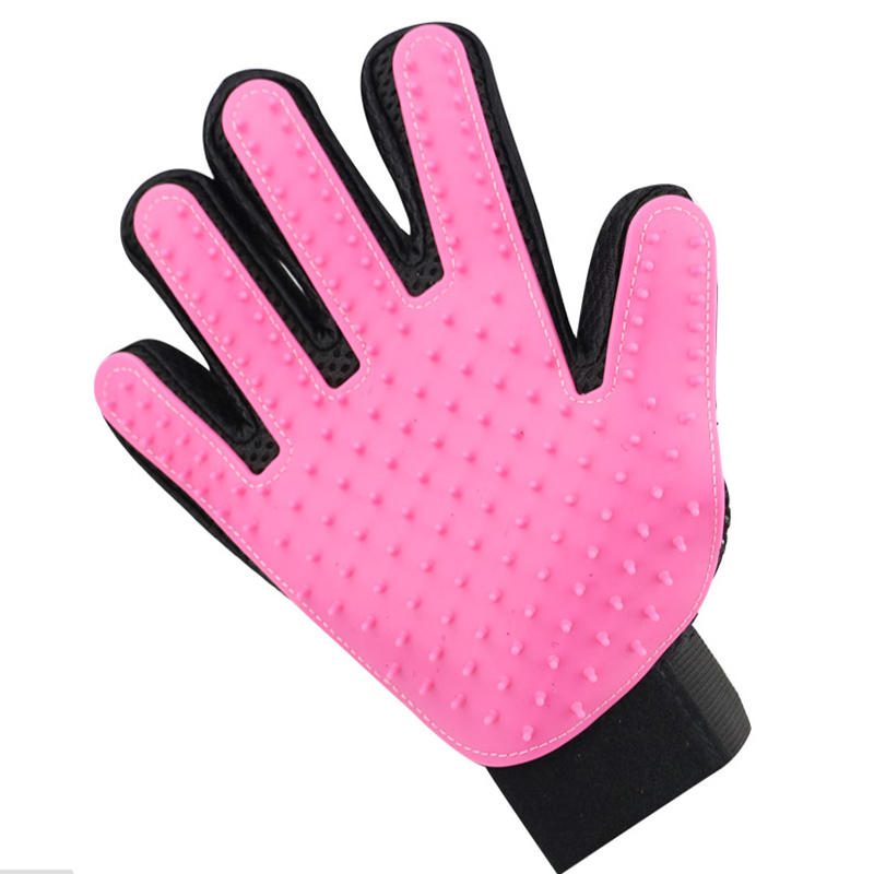 Pet Dog Hair Brush Comb Glove For Pet Cleaning Massage Grooming Supply Glove For Animal Finger Cleaning Cat Hair Glove #5