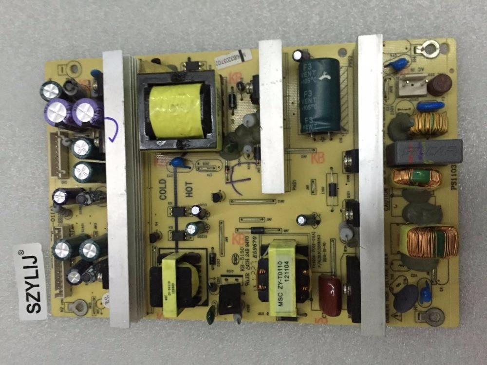 SZYLIJ 1pcs 100 New L26E10 L3210CDS TV3206 ZC02 01 A KB 5150 power board L32E10 it