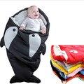 Shark Newborn Sleeping Bag Sleeping Bag Winter Stroller Bed Swaddle Blanket Wrap Bedding Cute Baby Sleeping Bag