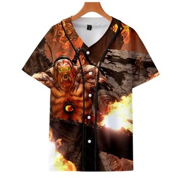 2019 Doom Eternal jackets Kpop Fashion jacket new brand cool print long sleeve Doom Eternal baseball jacket for men Clothes фото