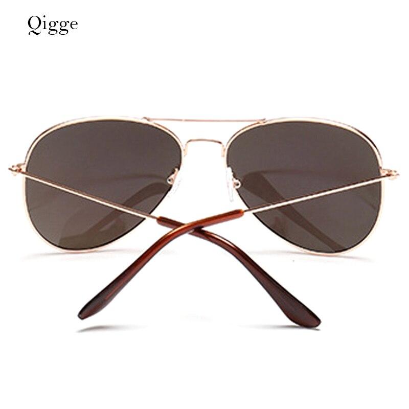 Qigge Nuevo Aviador Gafas de Sol de Marco de Metal Unisex UV400 Gafas - Accesorios para la ropa - foto 5