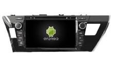 4G lite 2GB ram Android 6.0 quad core car dvd player stereo gps NAVI radio tape recorder for Toyota corolla 2014 2015 head units